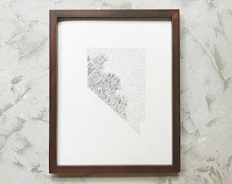 Nevada> Sagebrush> State Flower Drawing> Giclee Print