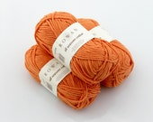 Rowan All Seasons Cotton. Yarn. Tangerine.