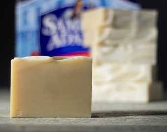 Simple Sam | Beer Soap | Made with Samuel Adams Beer | Unscented | Gifts for Men | Fatty's Soap Co.