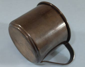 Vintage Sterling Silver  Baby Cup 1953