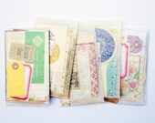 1.00 Shipping! Mini Paper Pack New and Vintage Papers