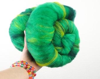 Emerald City - Merino Wool Art Batt 2.8oz