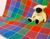 Handwoven Baby Blanket, Baby Wrap, Woven Baby Blanket, Woven Baby Wrap, Cotton Baby Blanket, Baby Towel #17-10