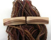 HOLDING for J K EggenSmith, 2 Tiny Natural Hair Barrettes, Mytlewood, lifetime guarantee, NO GLUE, french clip, long hair, fine hair jewelry