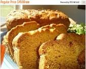 Weekend SALE Aunt Helen's Pumpkin Bread - FOUR (4) LOAVES