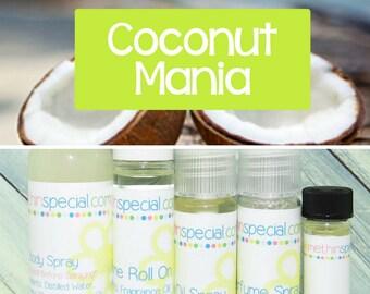 Coconut Mania Perfume, Perfume Spray, Body Spray, Perfume Roll On, Coconut Perfume, Perfume Sample, Dry Oil Spray, You Choose the Product