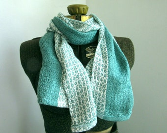 Mossy Green Bamboo Scarf