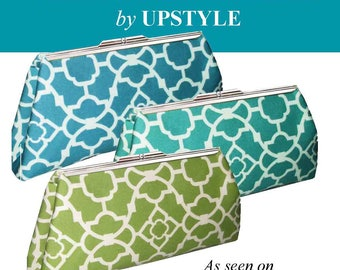 Clutch Purse Kit by UPSTYLE - As Seen on The Martha Stewart Show or Upgrade to Modern Clutch - Original or Modern Clutch PRO