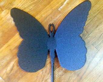Butterfly Metal Garden Stake   (E7)