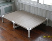 XX Large Beds Great Dane Large Custom Made Beds, CANVAS Raised Cot, 13 Colors, 38x55x10 Large To Smaller X Large Dogs Up To 160 Pounds.