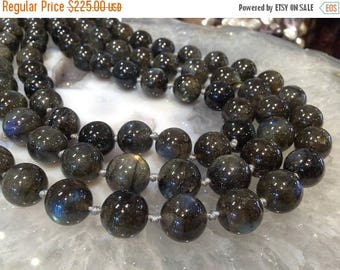 50% Mega Sale 12mm Blue Flash Labradorite Round Gemstone Beads