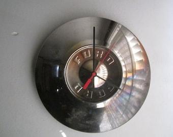 1956-57 Ford Hubcap Clock no. 2477