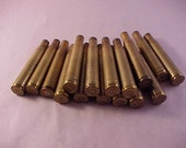 15 Brass Shell Casings 300 Magnum Rifle Shell / Jewelry Making / Mixed Media Art / Jewelry Supply / Art Supply