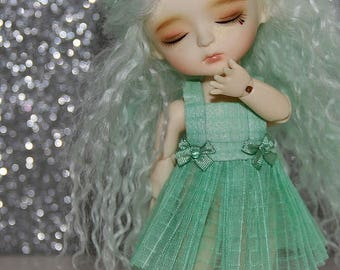 LATI Yellow - Pukifee - Vintage Series - Dress and Bow Hairclip SET - #18