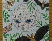Original Drawing - Moon