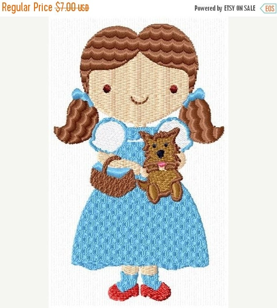 SALE 65% OFF Wizard of Oz Cartoon Machine Embroidery Designs - Set of 10 Instant Download Sale