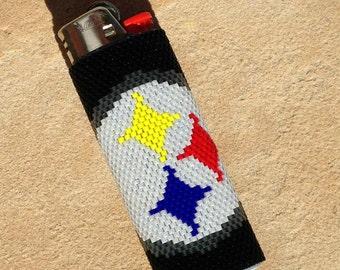 Lighter Case - Beaded Lighter Cover