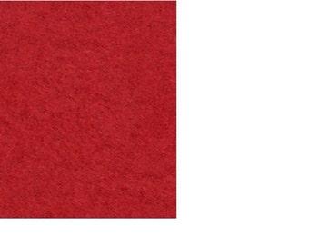 "Fleece Fabric - Solid Regal Red - David Textiles Anti-Pill 60/62"" YARD"