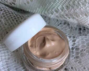 Goat Milk BB cream | ARGAN oil | Hyaluronic Acid | cream foundation tinted moisturizer | 30ml face tint lotion | small batch skin care