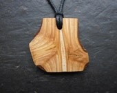 Unique Natural Wood Pendant - English Ash - for Healing.