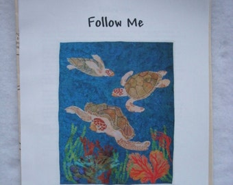 Sea Turtle Quilt Pattern