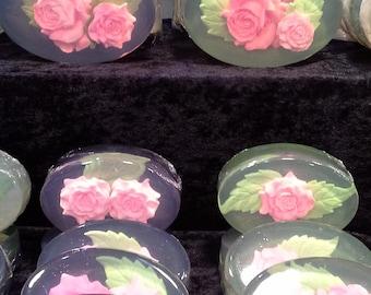 Rose Art Soap