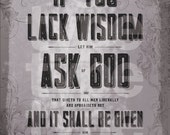 4x6 print Ask of God (2017 LDS Mutual Theme) PLATINUM