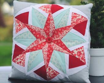 Paper Piecing Star Pattern - Sweet Dreams #233 - Quilt Pattern - Plus Cornerstone pattern