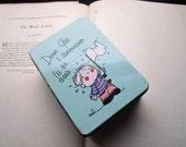 Vintage Tin Box * Dear God Kids, Annie Fitzgerald * 1970's 80's Cartoon Tin Box * Comic Tin * Bible Study * Kids Vintage  * Sunday School