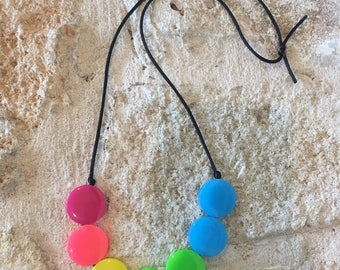 Sensory Necklace Rainbow
