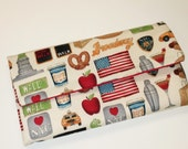 I Love New York Wallet / Wristlet / Clutch / Cell Phone / Bridesmaid Gifts