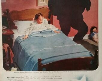 Vintage North Star Blanket Magazine Advertisment -  Print Ads,Vintage Ads, Vintage  Print Ads, Ads, Wall Decor,