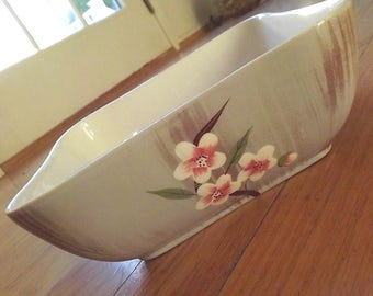 1950s Weil Ware Birchwood vegetable bowl = charity for cats and kittens