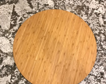 Round Bamboo Cutting Board