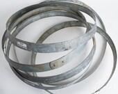 6 Galvanized Barrel Rings