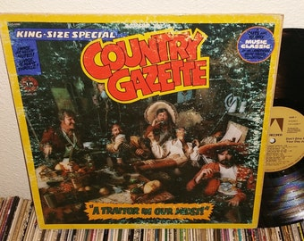 Country Gazette A traitor In Our Midst Vintage Vinyl Record