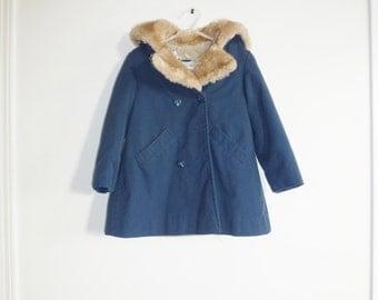 Vintage Navy Toddler's London Fog Jacket
