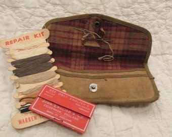 Vintage Army Sewing Repair Kit SALE