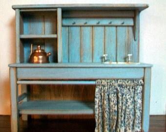 Miniature Kitchen Sink  1:12 scale