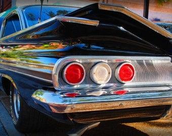 1963 Classic Chevrolet Impala - Classic Car - Garage Art - Pop Art - Fine Art Photograph