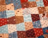 Civil War Quilt Jo Morton Little Quilts Reflection Tumbler Hand Quilted Quilt