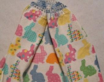 Easter Bunnies  -  Kitchen towel          new