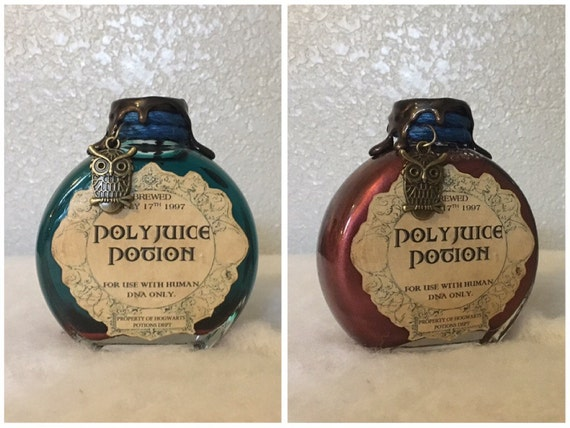 GET BY CHRISTMAS! Polyjuice Potion, A Color Change Decorative Harry Potter Potion Bottle.