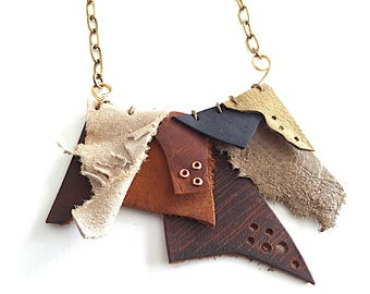 Bohemian Leather Necklace