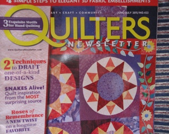 Quilters Newletter magazine