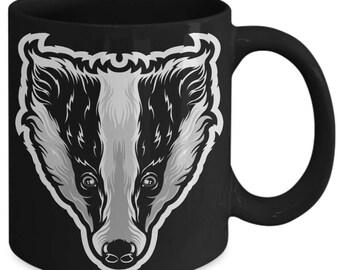 Badger Animal Wildlife Coffee Mug