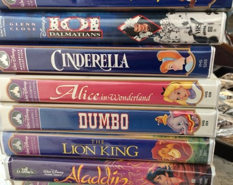 Disney VHS Tape - your choice - Vintage Movies