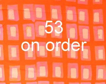 Batik Fabric Samples for Custom Orders - Not For Sale - No 53