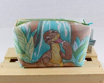 Land Before Time Zipper Pouch Recycled