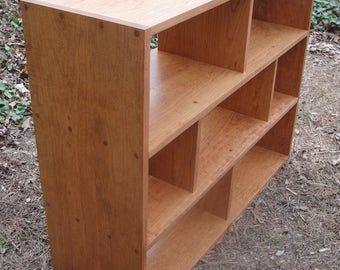 Entertainment Center Made From Cherry  in Variable Widths